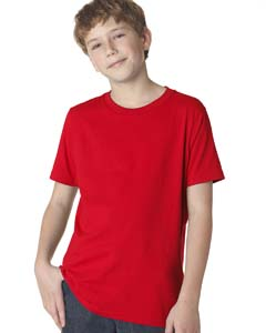 Red Boys' Premium Short-Sleeve Crew Tee