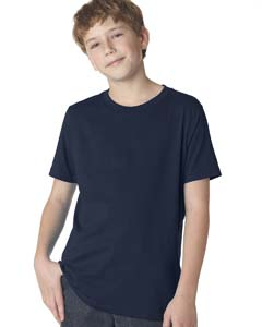 Midnight Navy Boys' Premium Short-Sleeve Crew Tee