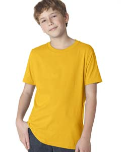 Gold Boys' Premium Short-Sleeve Crew Tee