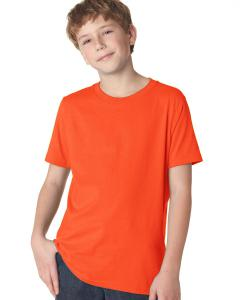Classic Orange Youth Premium Short-Sleeve Crew Tee