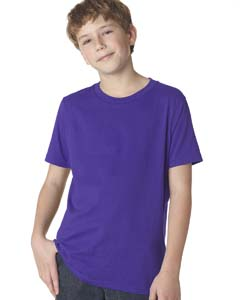 Purple Rush Boys' Premium Short-Sleeve Crew Tee