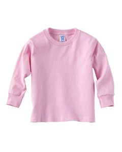 Pink Toddler 5.5 oz. Jersey Long-Sleeve T-Shirt