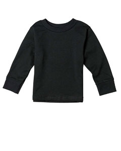 Black Toddler 5.5 oz. Jersey Long-Sleeve T-Shirt