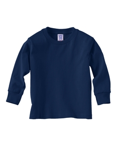 Navy Toddler 5.5 oz. Jersey Long-Sleeve T-Shirt