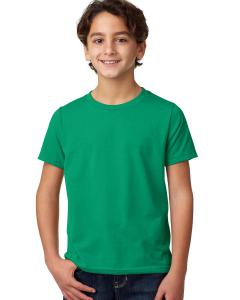 Kelly Green Youth CVC Crew Tee