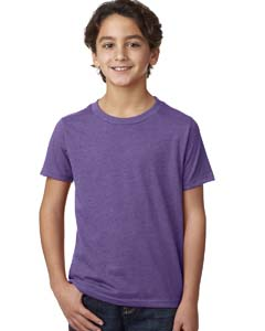 Purple Rush Youth CVC Crew Tee