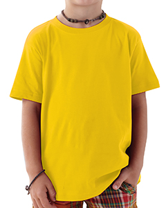 Yellow Toddler 4.5 oz. Fine Jersey T-Shirt