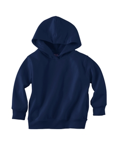 Navy Toddler 7.5 oz. Fleece Pullover Hood