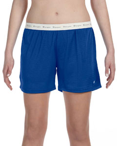 Athletic Royal Ladies' Active Mesh Shorts