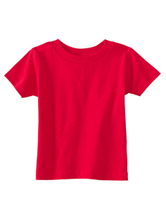 Red Infant 5.5 oz. Short-Sleeve Jersey T-Shirt