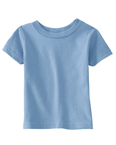 Light Blue Infant Cotton Jersey T-Shirt