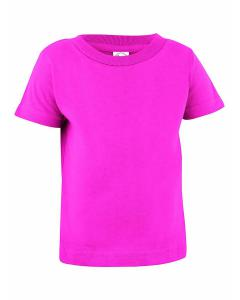 Hot Pink Infant Cotton Jersey T-Shirt