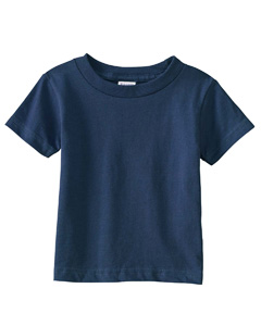 Navy Infant Cotton Jersey T-Shirt