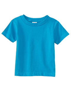 Turquoise Infant Cotton Jersey T-Shirt
