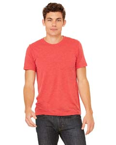 Red Triblend Unisex Triblend Short-Sleeve T-Shirt