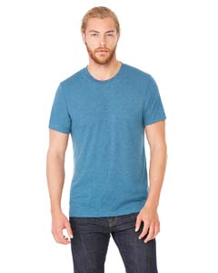 Steel Blu Trblnd Unisex Triblend Short-Sleeve T-Shirt