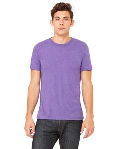 Purple Triblend Unisex Triblend Short-Sleeve T-Shirt