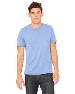 Blue Trblnd Unisex Triblend Short-Sleeve T-Shirt