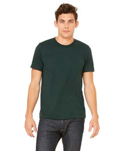 Emerald Triblend Unisex Triblend Short-Sleeve T-Shirt
