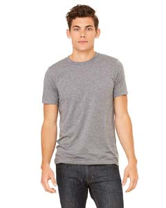 Grey Triblend Unisex Triblend Short-Sleeve T-Shirt