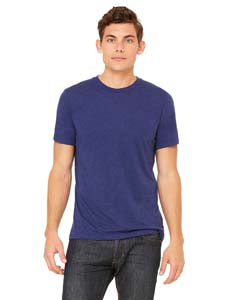 Navy Triblend Unisex Triblend Short-Sleeve T-Shirt