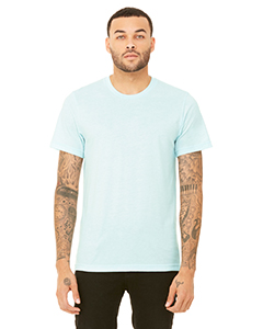 Ice Blue Triblnd Unisex Triblend Short-Sleeve T-Shirt
