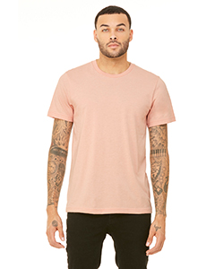 Peach Triblend Unisex Triblend Short-Sleeve T-Shirt