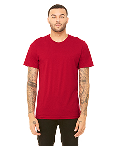 Solid Red Tribln Unisex Triblend Short-Sleeve T-Shirt