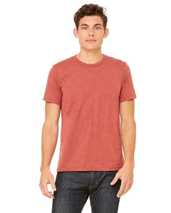 Clay Triblend Unisex Triblend Short-Sleeve T-Shirt