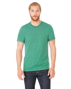 Grass Grn Trblnd Unisex Triblend Short-Sleeve T-Shirt