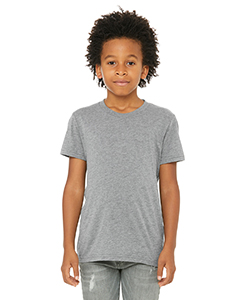 Grey Triblend Youth Triblend Short-Sleeve T-Shirt
