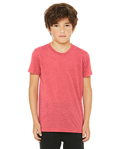 Red Triblend Youth Triblend Short-Sleeve T-Shirt