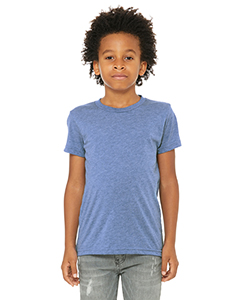 Blue Triblend Youth Triblend Short-Sleeve T-Shirt