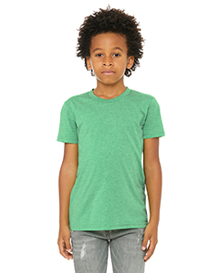 Green Triblend Youth Triblend Short-Sleeve T-Shirt