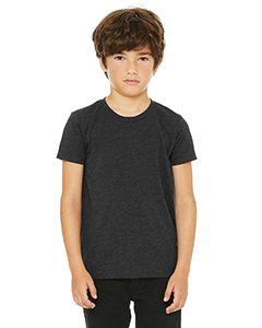 Char Blk Triblnd Youth Triblend Short-Sleeve T-Shirt
