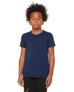 Navy Triblend Youth Triblend Short-Sleeve T-Shirt