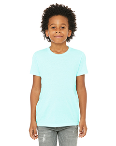 Ice Blue Trblnd Youth Triblend Short-Sleeve T-Shirt