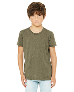 Olive Triblend Youth Triblend Short-Sleeve T-Shirt