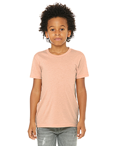Peach Triblend Youth Triblend Short-Sleeve T-Shirt