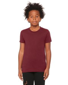 Maroon Triblend Youth Triblend Short-Sleeve T-Shirt