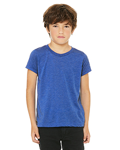 Tru Royal Trblnd Youth Triblend Short-Sleeve T-Shirt