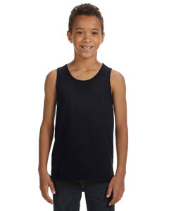 Black Youth Jersey Tank