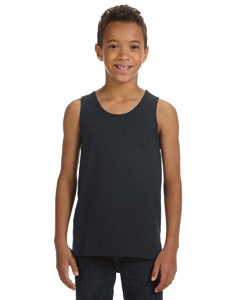Dk Grey Heather Youth Jersey Tank