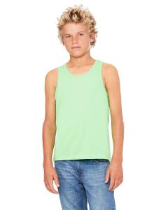 Neon Green Youth Jersey Tank