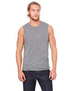 Deep Heather Unisex Jersey Muscle Tank