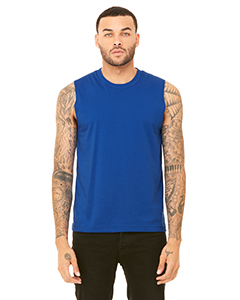 True Royal Unisex Jersey Muscle Tank