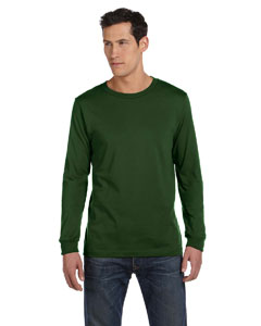 Olive Men's Jersey Long-Sleeve T-Shirt