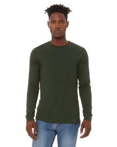 Emerald Triblend Men's Jersey Long-Sleeve T-Shirt