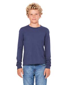 Navy Youth Jersey Long-Sleeve T-Shirt