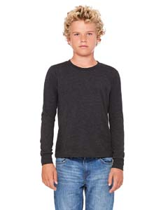 Char-blk Tribnd Youth Jersey Long-Sleeve T-Shirt